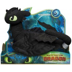 How to Train Your Dragon 3 Deluxe Plush - Toothless