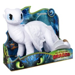 How to Train Your Dragon 3 Deluxe Plush - Light Fury