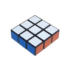 Rubik's Edge 3x3x1 Hang Tag
