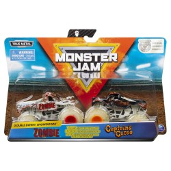 Monster Jam 1:64 2 Packs Double Down Showdown - Captain's Curse