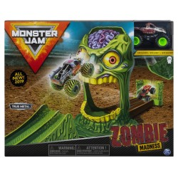 Monster Jam 1:64 Basic Stunt Playsets - Zombie Madness Playset