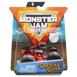 Monster Jam 1:64 Single Pack - Captain's Curse