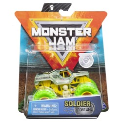 Monster Jam 1:64 Single Pack - Soldier Fortune