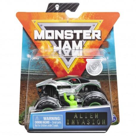 Monster Jam 1:64 Single Pack - Alien Invasion
