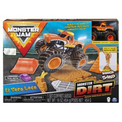 Monster Jam Kinetic Dirt Deluxe Set - El Toro Loco
