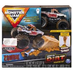 Monster Jam Kinetic Dirt Starter Set - Zombie