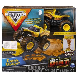 Monster Jam Kinetic Dirt Starter Set - Earth Shaker