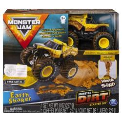 Monster Jam Kinetic Dirt Starter Set - Earth Shaker