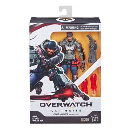 Overwatch Ultimates Series Blackwatch Reyes (Reaper) Skin Collectible Action Figure