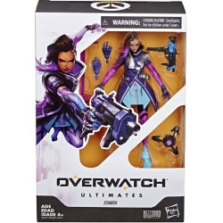 Overwatch Ultimates Series Sombra Collectible Action Figure