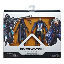 Overwatch Ultimates Series Soldier: 76 and Shrike (Ana) Skin Dual Pack Collectible Action Figures