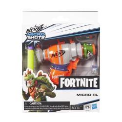 Nerf MicroShots Dart Fortnite RL - Firing Toy Blaster