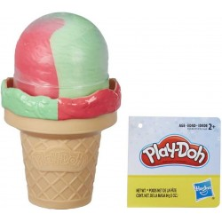 Play Doh Ice Cream Cone - Pink