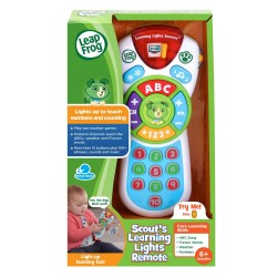 LeapFrog Scout's Learning Lights Remote Deluxe (6+ Months)