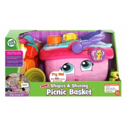 LeapFrog Shapes & Sharing Picnic Basket S2 (6-36 Months)