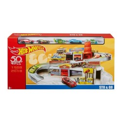 Hot Wheels Sto & Go Play Set