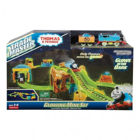 Thomas & Friends TrackMaster Glowing Mine Set