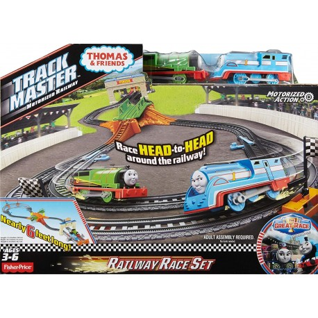 Thomas & Friends TrackMaster Thomas & Percy's Railway Race Set