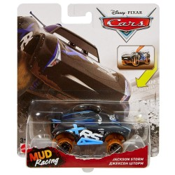 Disney Pixar Cars Xtreme Jackson Storm Mud Racing