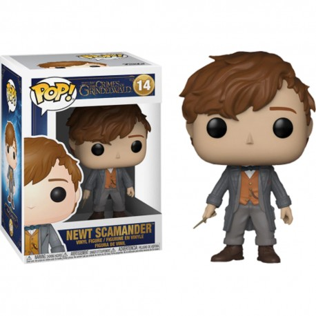 Funko Pop! Movies 14: Fantastic Beasts 2 The Crimes of Grindelwald - Newt Scamander