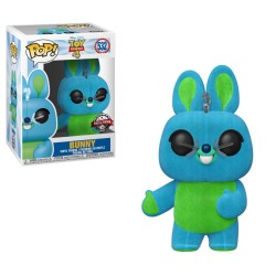 Funko Pop! Disney 531: Toy Story 4 - Bunny [Flocked] (Special Edition)