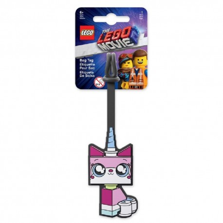 Lego Movie 2 Bag Tag Unikitty