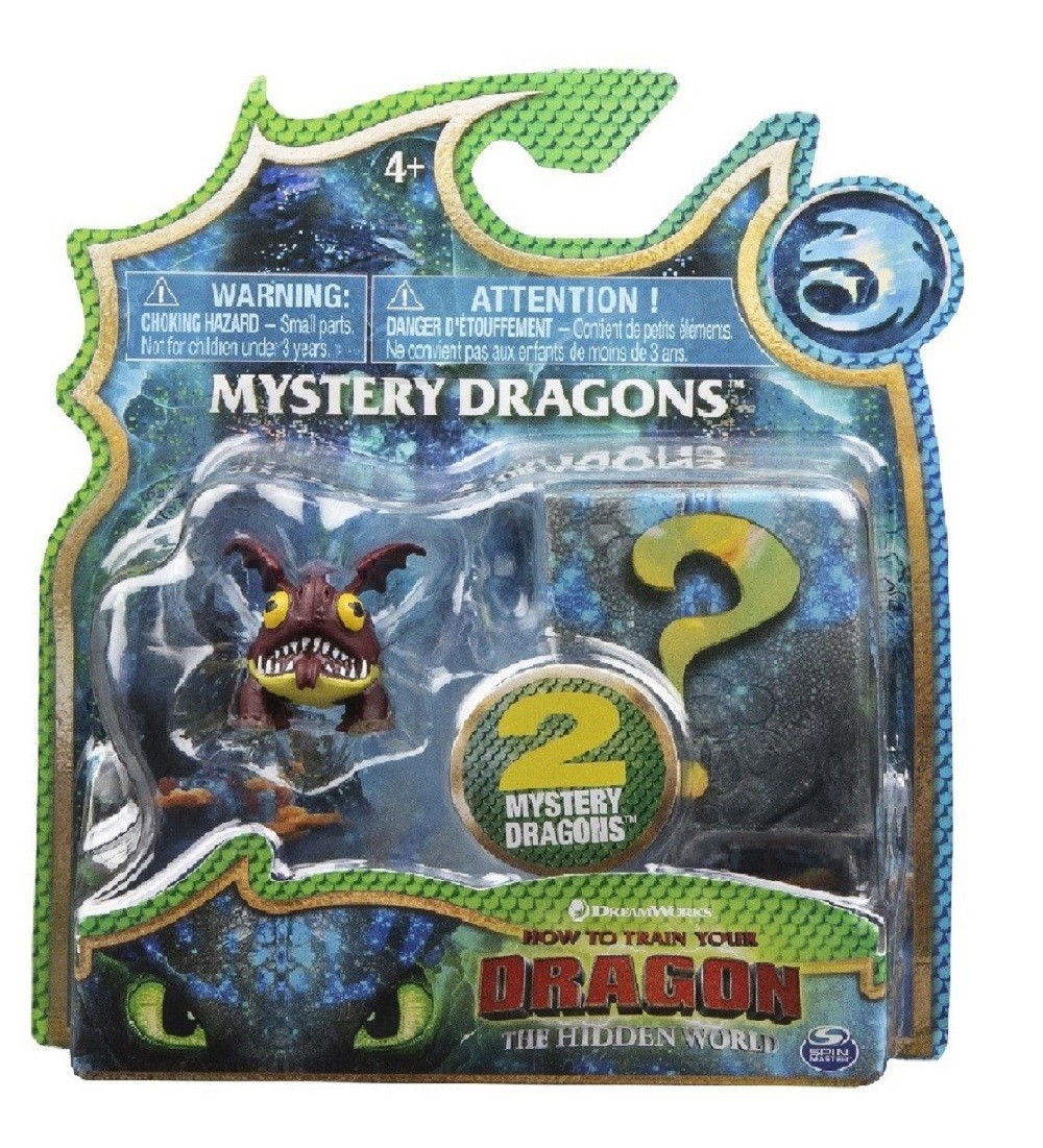 Dreamwork Dragons Mystery Dragon 2 Pack  4 To Collect NEW