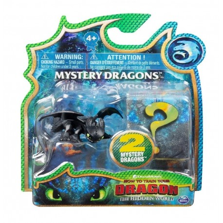 HTTYD 3 Mystery Dragons 2 Pack - Toothless 2.0