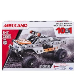 Meccano 10 Model Set - Race Truck
