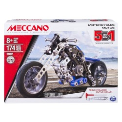 Meccano 5-in-1 Model - Motorcycles