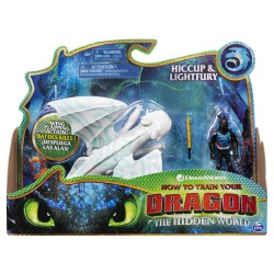 How to Train Your Dragon 3 Dragon & Viking - Hiccup & Lightfury 2.0