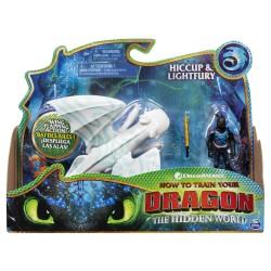 HTTYD 3 Dragon & Viking - Hiccup & Lightfury 2.0
