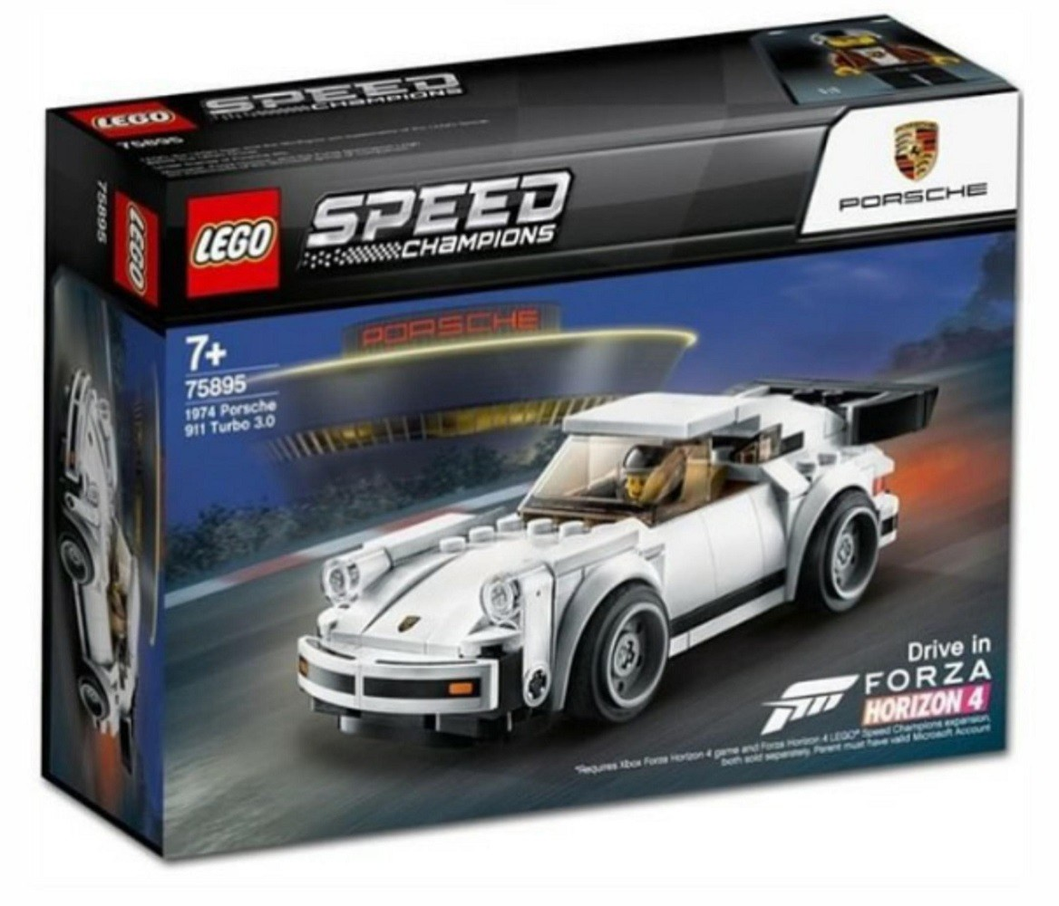 Lego Speed Champions 75895 1974 Porsche 911 Turbo 3 0