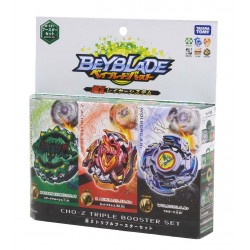 Beyblade Burst Cho-Z B-121 Triple Booster Set