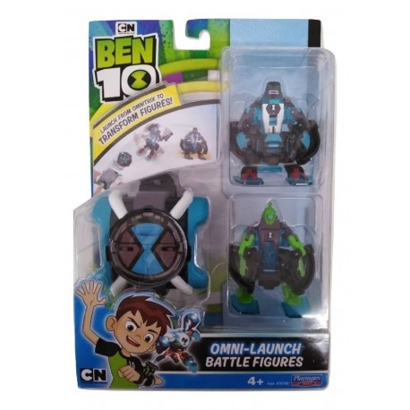 Ben 10 Omni Launch W/ Oe Four Arms + Oe Wildvine