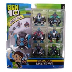 Ben 10 - Oe Omni Launch W/6 Battle Figures