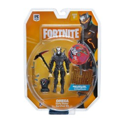 Fortnite Early Game Survival Kit Figure Pack - Omega