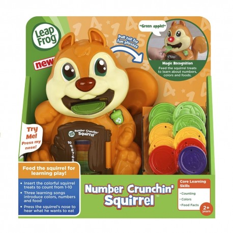 LeapFrog Number Crunchin' Squirrel