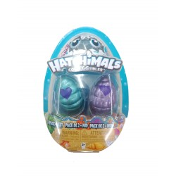 Hatchimals Colleggtibles S5 2 Pack + Nest GML - Blue and Purple