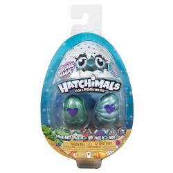 Hatchimals Colleggtibles S5 2 Pack + Nest GML - Blue and Green