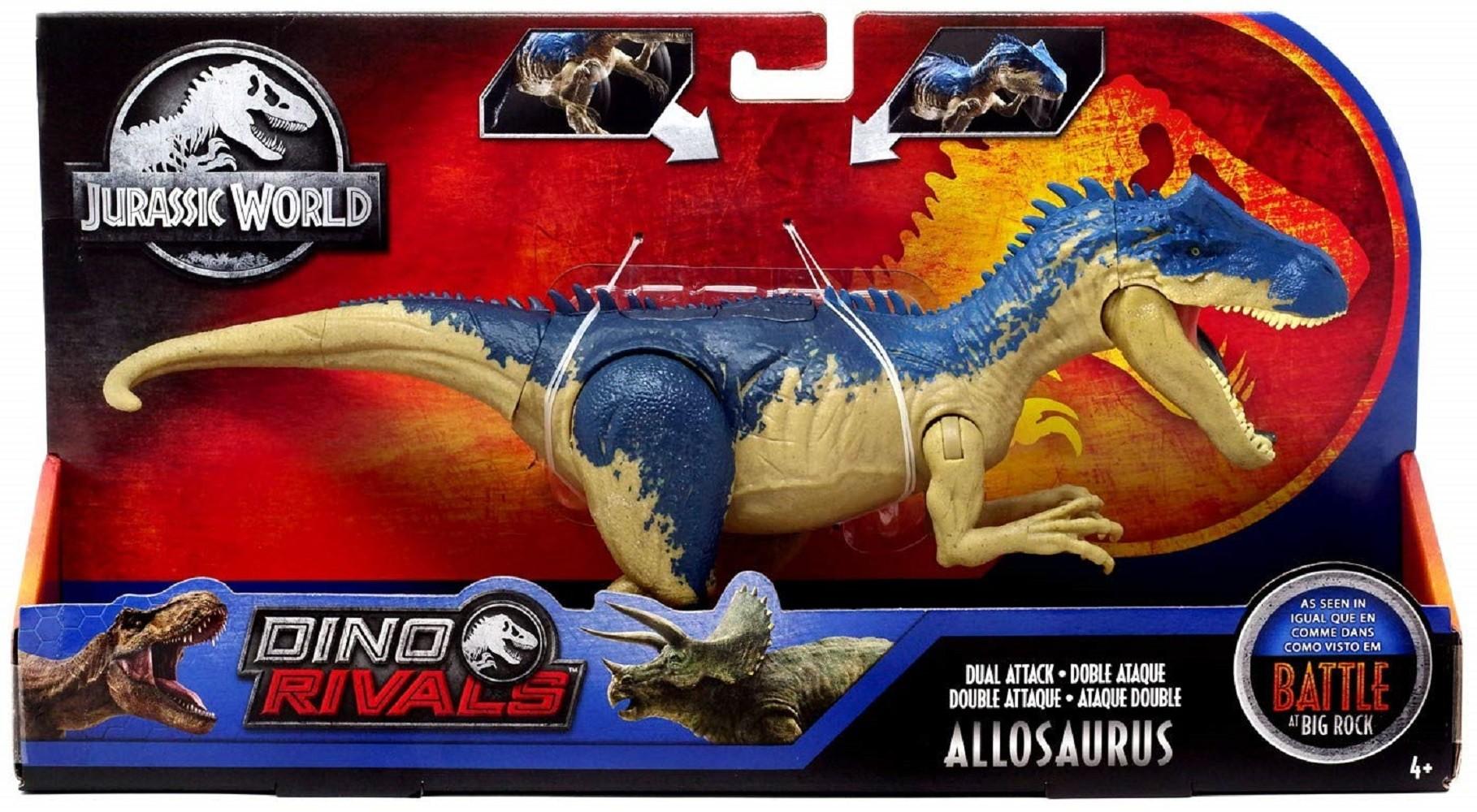 Jurassic World Parasaurolophus Dino Rivaux double attaque Dinosaur Figure