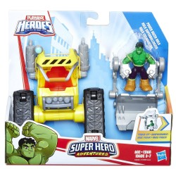 Marvel Playskool Heroes: Marvel Super Hero Adventures Power Dozer Hulk