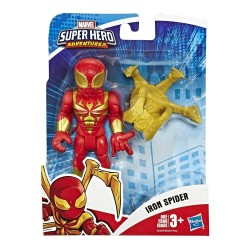Marvel Playskool Heroes: Marvel Super Hero Adventures Collectible 5-Inch Iron Spider Action Figure with Spider-Arms Accessory