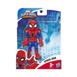 Marvel Playskool Heroes: Marvel Super Hero Adventures Collectible 5-Inch Spider-Man Action Figure with Web Accessory