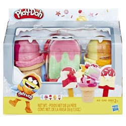Play Doh Ice Pops 'n Cones Freezer Themed 4-Pack