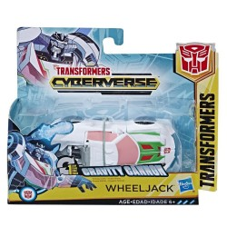 Transformers Cyberverse Action Attackers: 1-Step Changer Wheeljack Action Figure