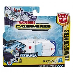 Transformers Cyberverse Action Attackers: 1-Step Changer Prowl Action Figure