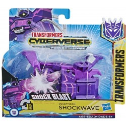 Transformers Cyberverse Action Attackers: 1-Step Changer Shockwave Action Figure