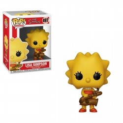 Funko Pop! Television 497: The Simpsons - Lisa Simpson