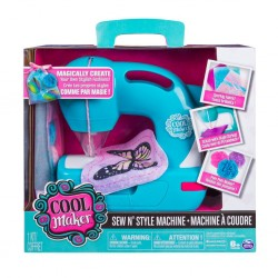 Cool Maker Sew & Style Sewing Machine